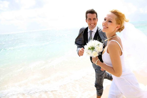 Destination Wedding on Clearwater Beach, Florida