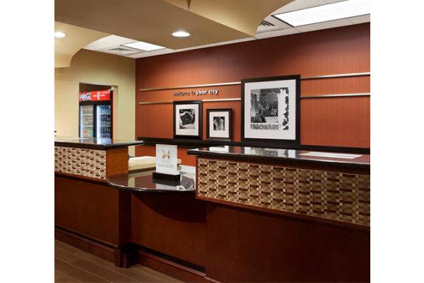Front Desk Hampton Inn Ybor City Hotel