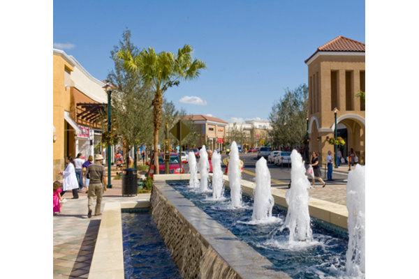 Center Court Fountain