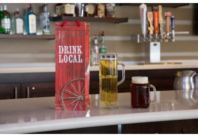 Drink local at our full-service bar!
