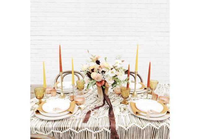 Styled Head Table