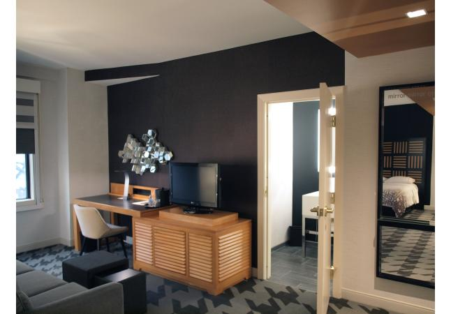 Double Studio Suite Model Room