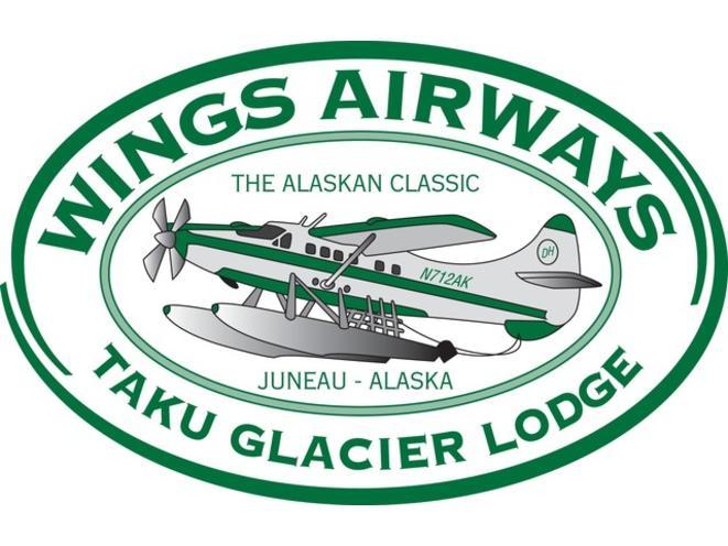 Wings Airways/Taku Lodge Logo