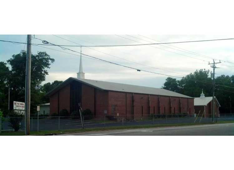 Peace memorial Chrsitian Church Fayetteville