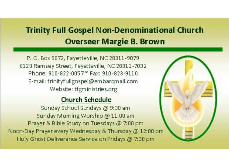 Trinity Full Gospel