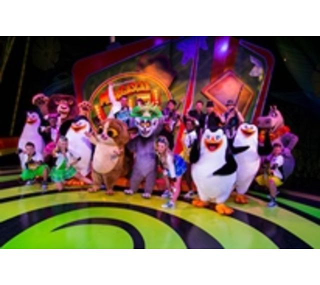 Busch Gardens Tampa Cheetah Hunt Coaster; Madagascar Live!