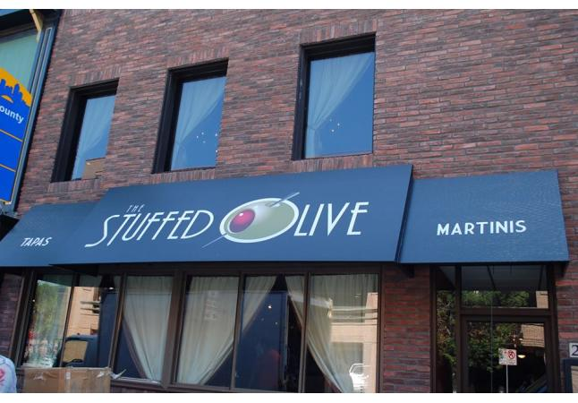 The Stuffed Olive Exterior