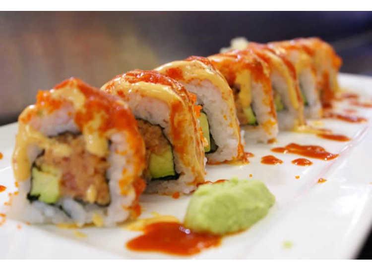 Bento Box and Sushi