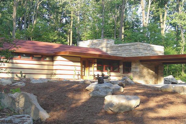 Frank Lloyd Wrightu0027s Duncan House At Polymath Park Tours Part 79