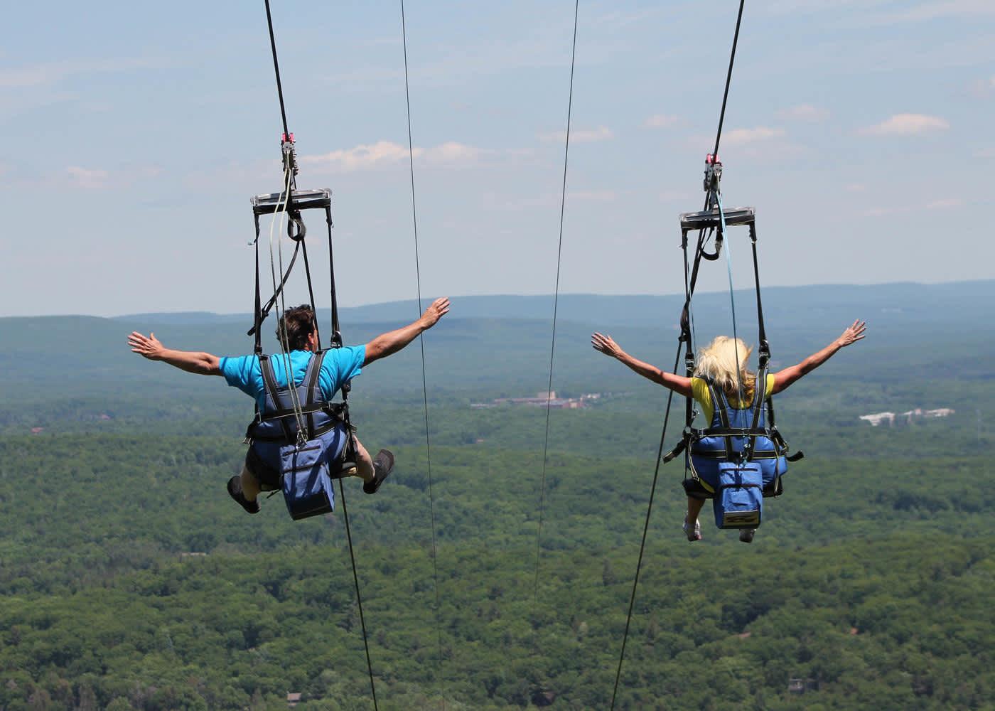 Poconos Zipline | Fly Through the Forest in the Pocono Mountains