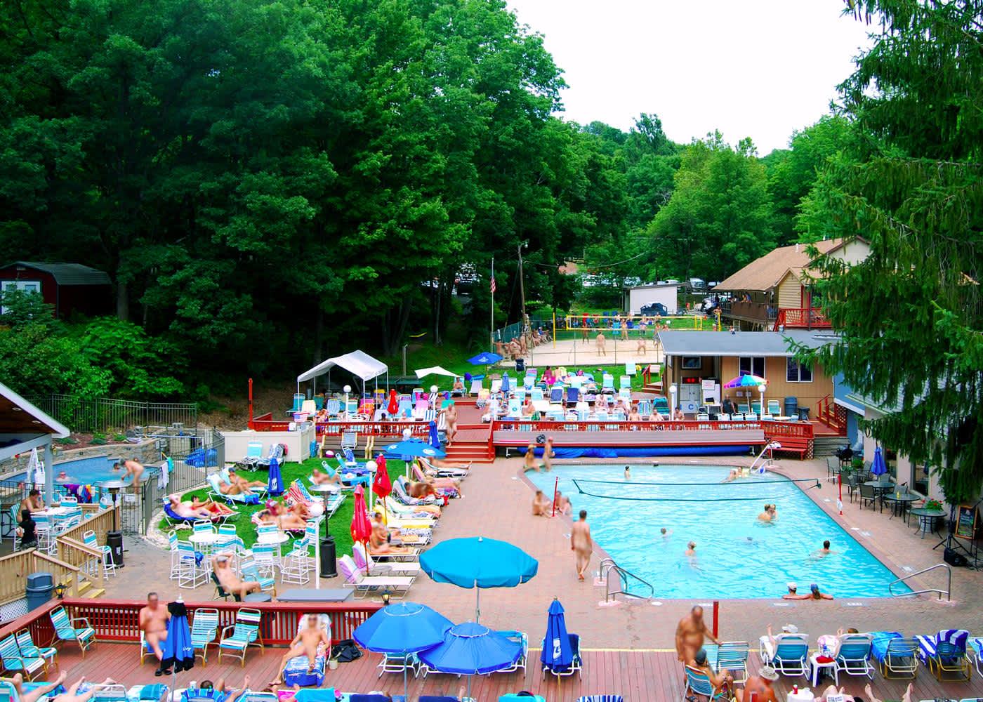 Sunny rest resort nudist resort