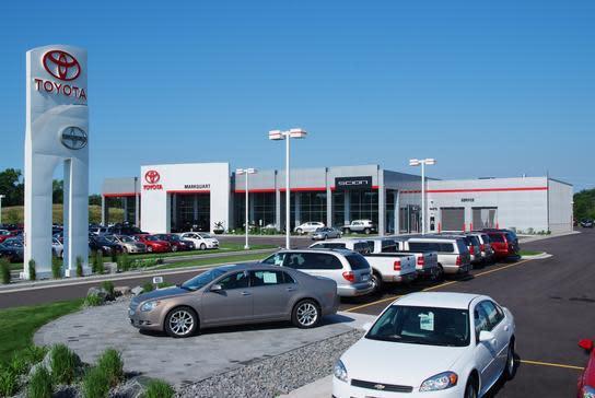 Markquart Toyota Dealer Eau Claire WI - Toyota dealers wisconsin