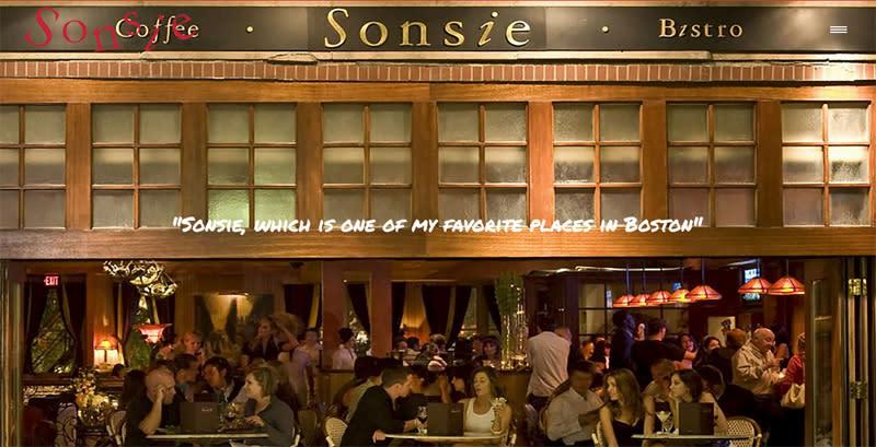 Sonsie Restaurant