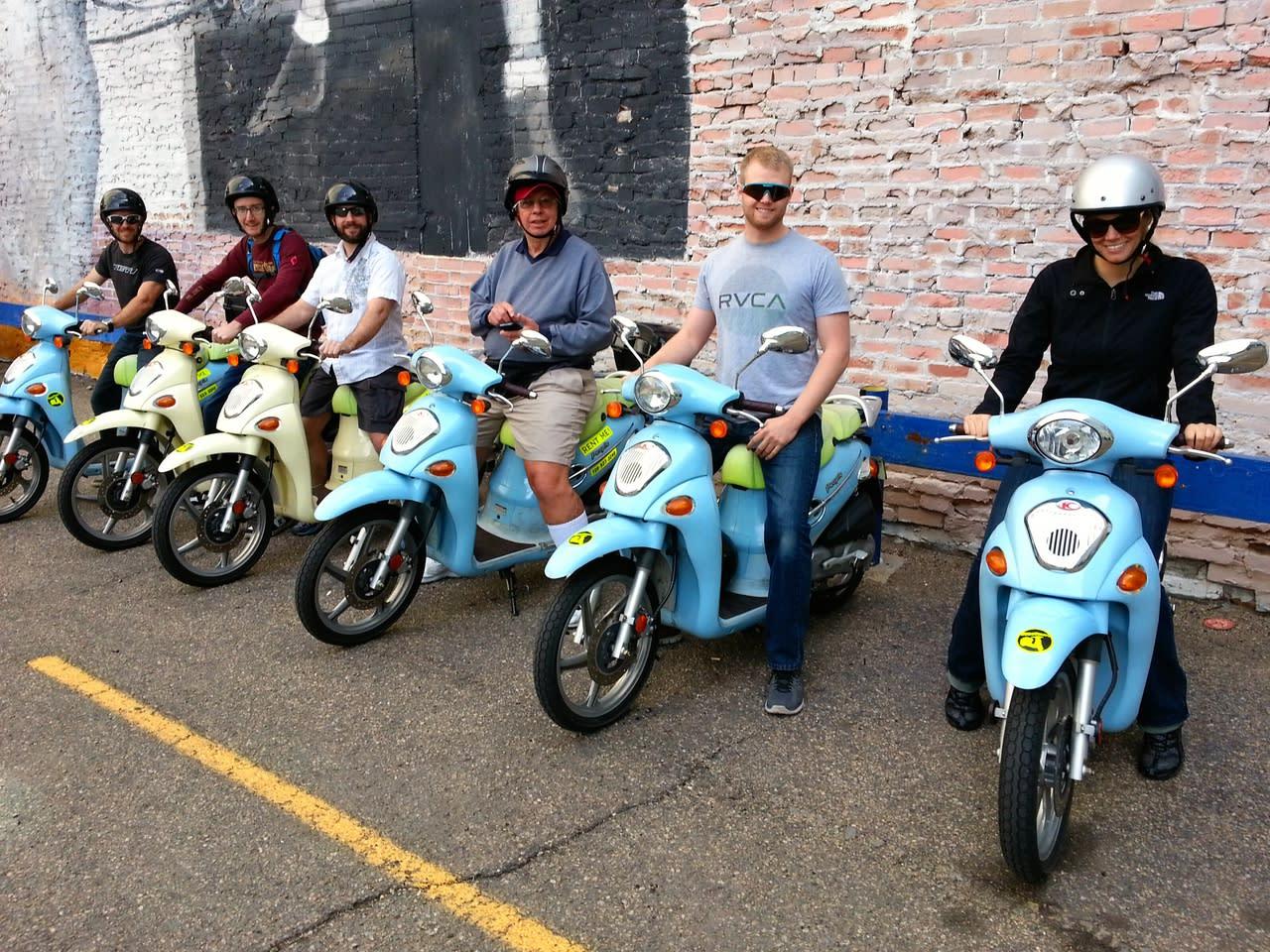scootours denver scooter rental tours