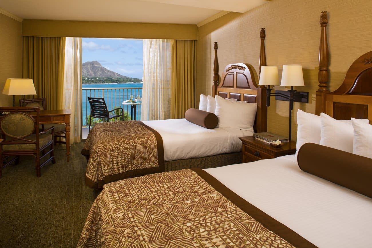 Beautiful Waikiki Reef Beach Resort
