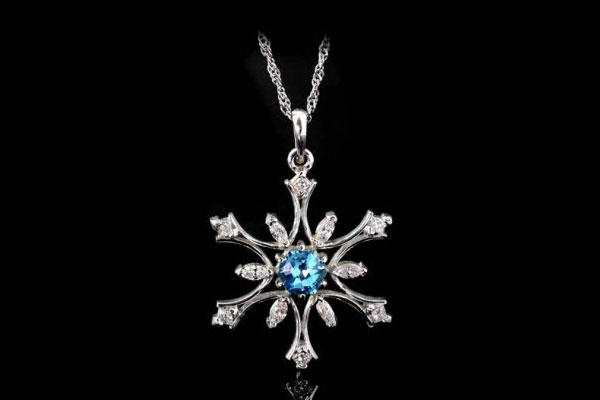 Woodbury Jewelry Snowflake