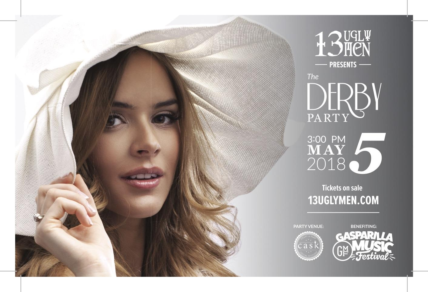 13 Ugly Men Presents The Derby Party
