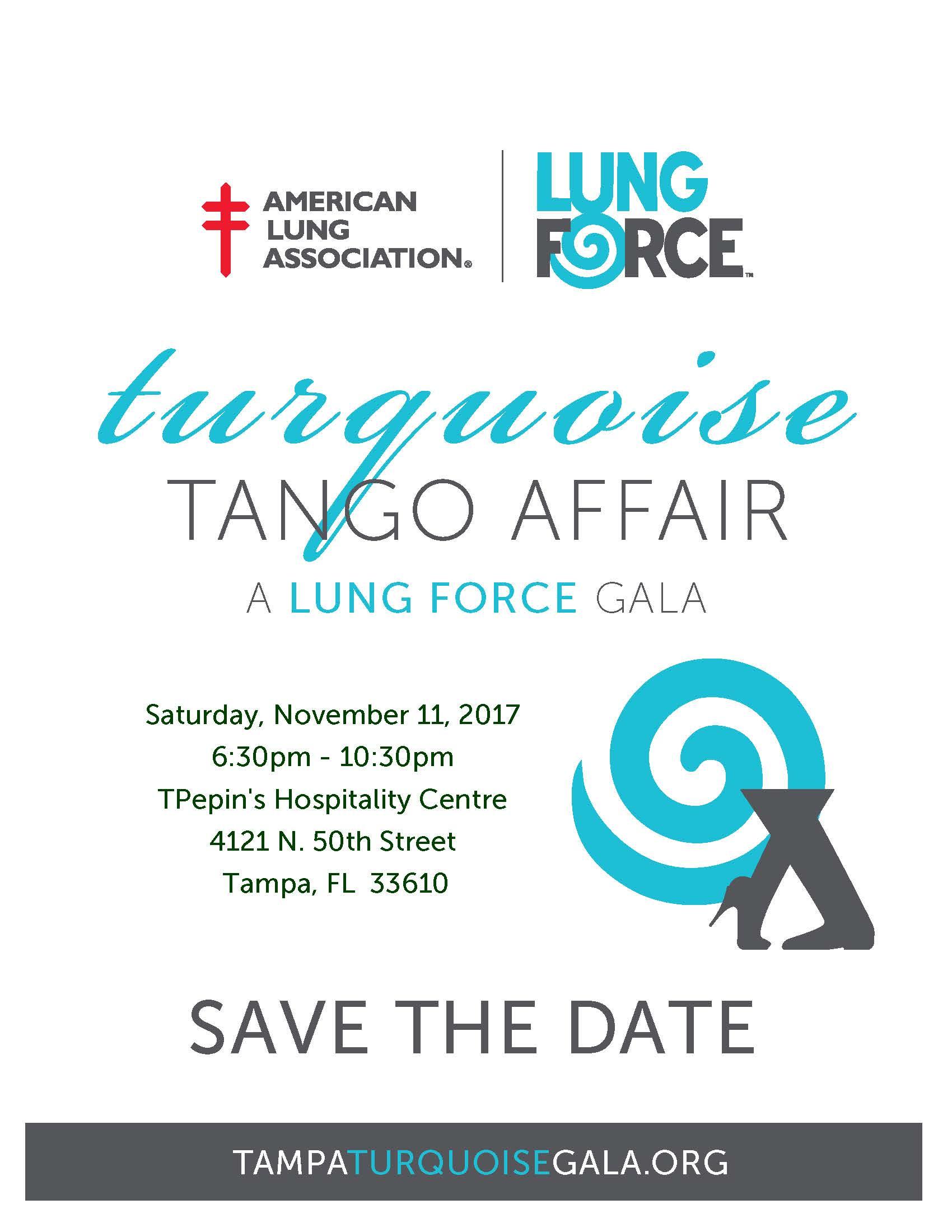 Turquoise Tango Affair Gala