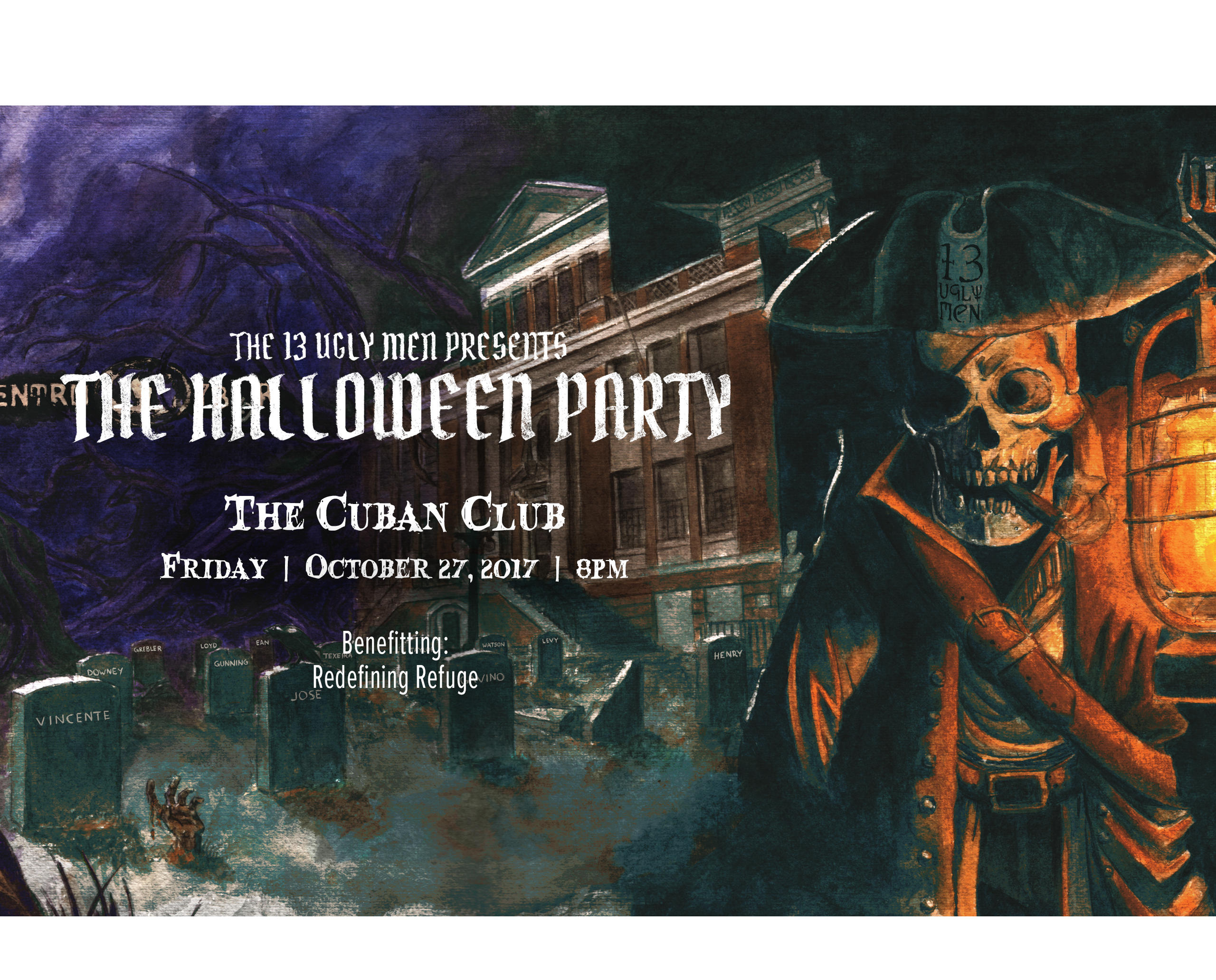 13 Ugly Men Presents 20th Annual Halloween Party