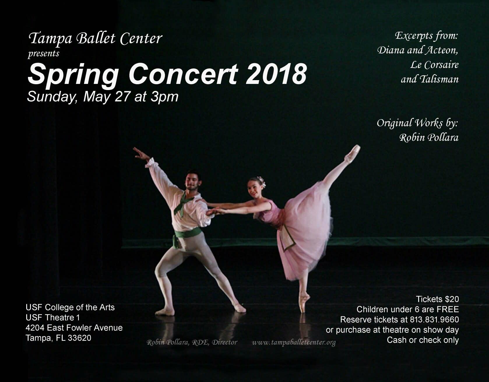 Tampa Ballet Center Spring Concert