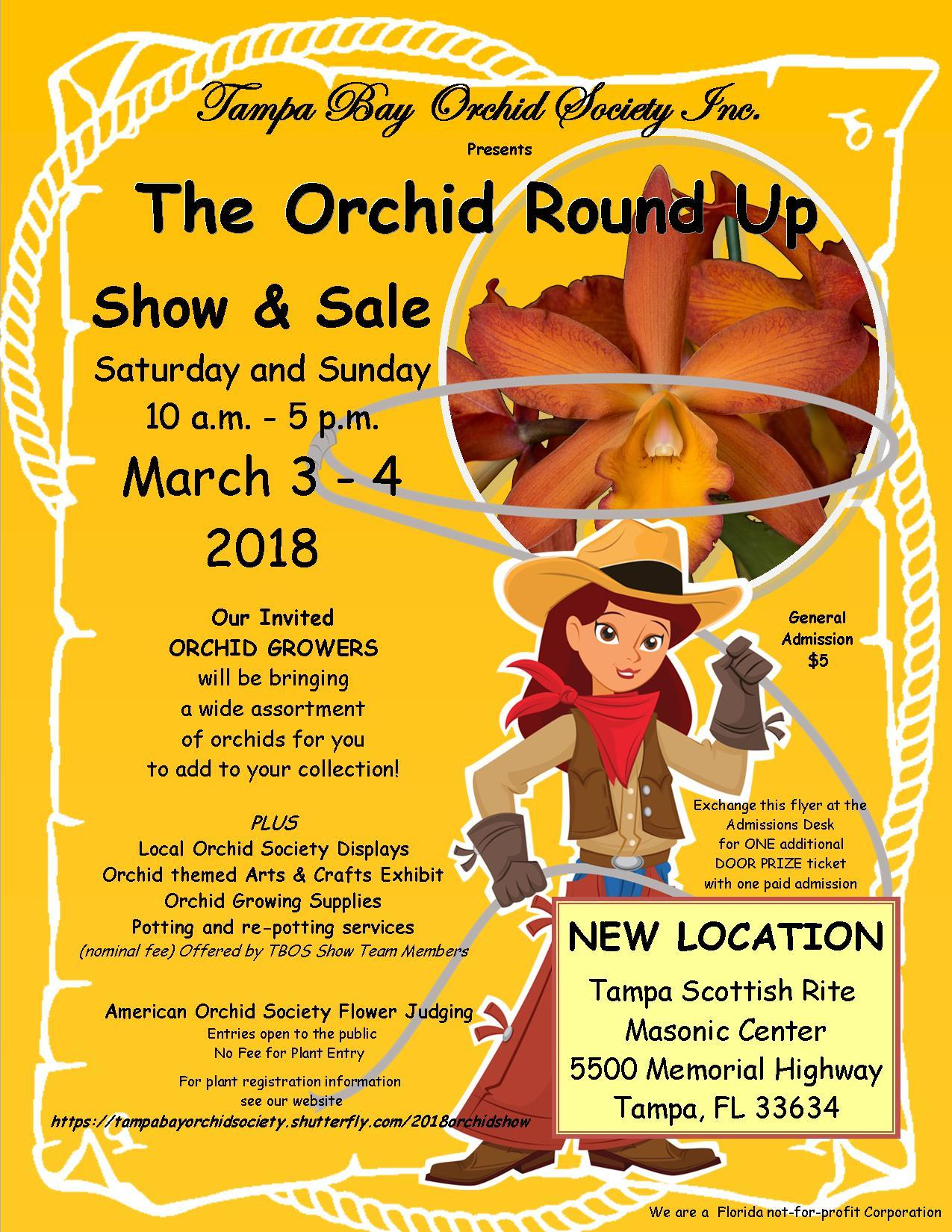 Orchid Show & Sale 2018- Tampa Bay Orchid Society Inc.
