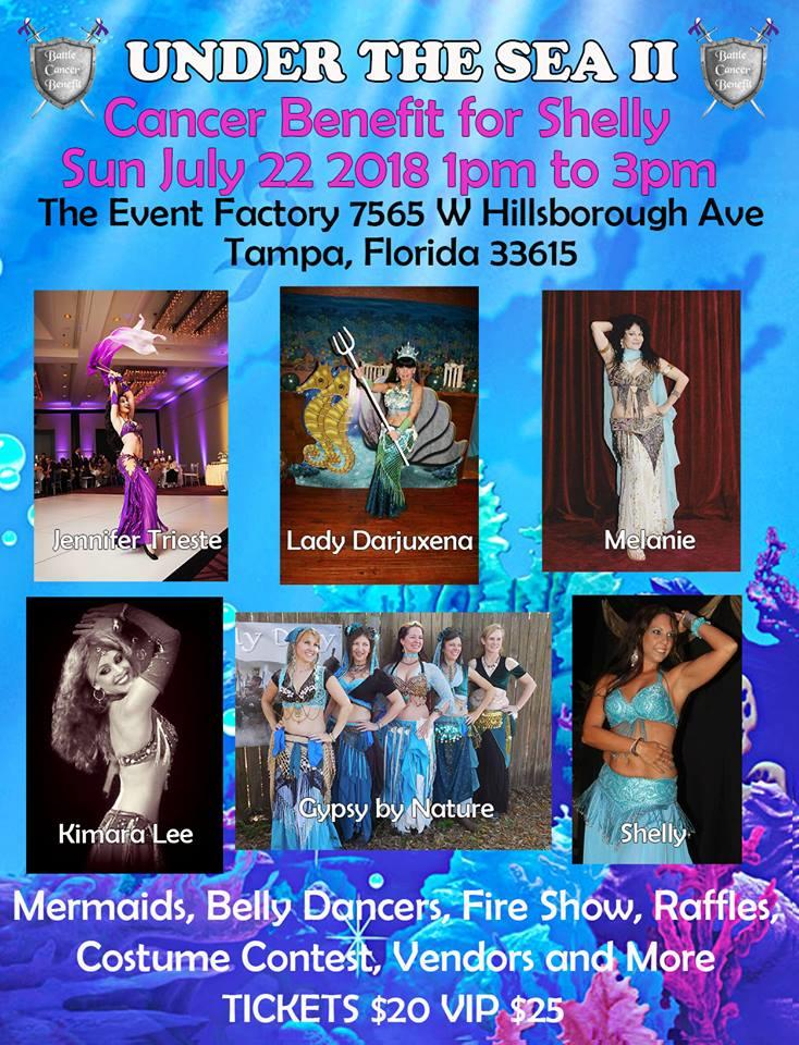 Under the Sea event II A Magical Journey, Shellys Cancer Benefit