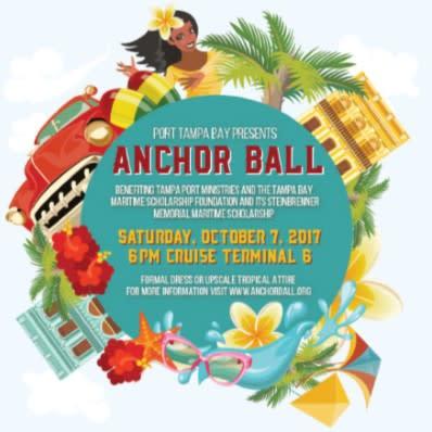 2017 Port Tampa Bay Anchor Ball