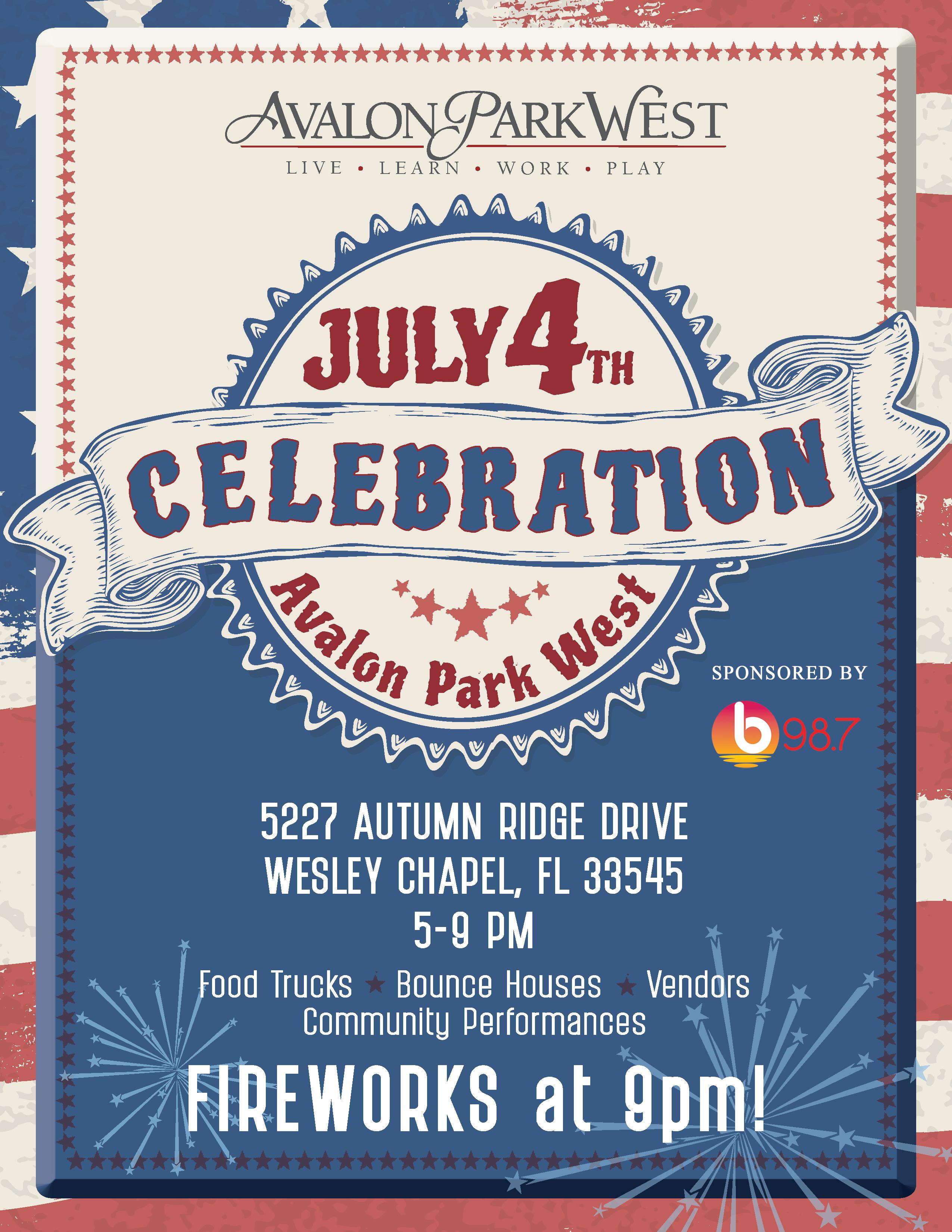 July 4th Celebration at Avalon West