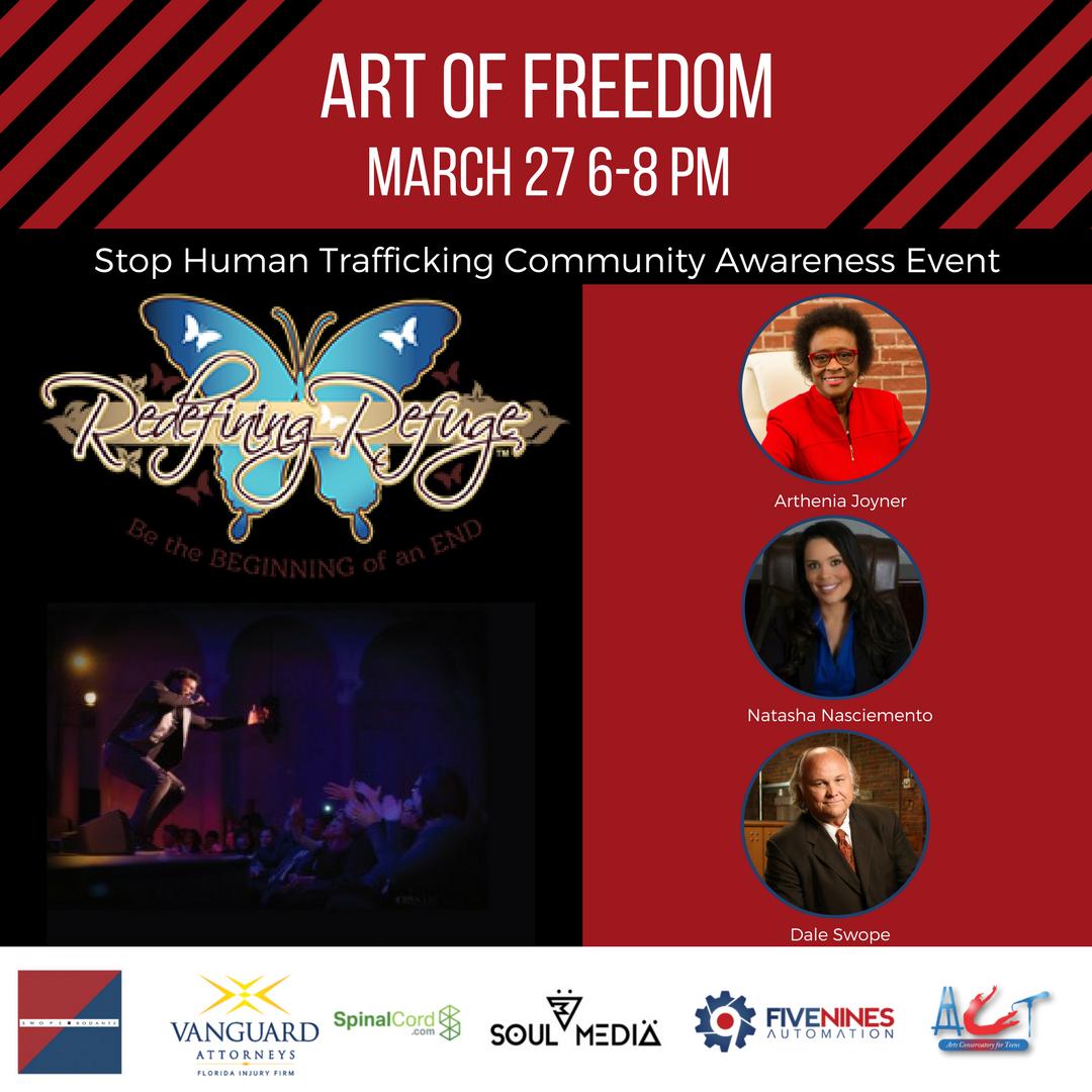 Art of Freedom-Human Trafficking Community Awareness Event