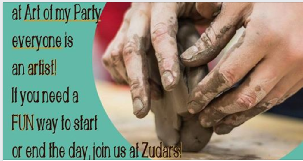 Art of My Party at Zudars!