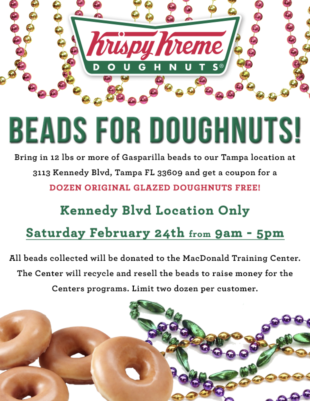 Beads for Doughnuts