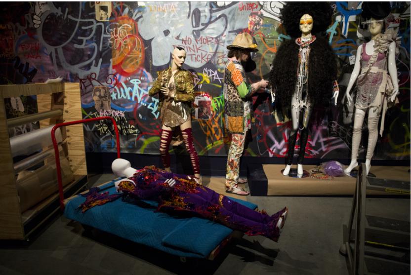 Susanne Bartsch installation at Tampa Museum of Art