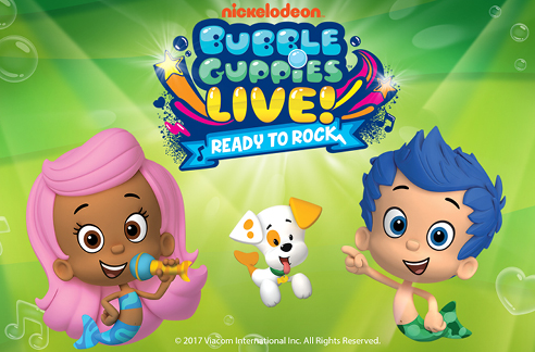 "Bubble Guppies Live! ""Ready to Rock"""