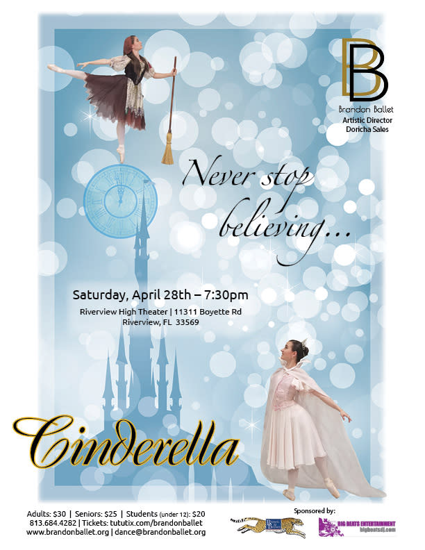 Cinderella - Presented by Brandon Ballet