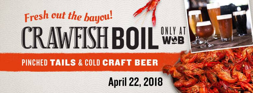 World of Beer Annual Crawfish Boil