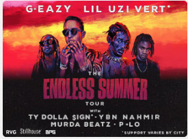G-Eazy, Ty Dolla Sign & Lil Uzi Vert