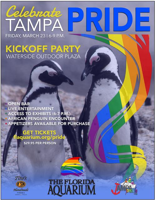 Celebrate Tampa Pride Kick Off Party