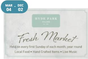 Fresh Market at Hyde Park Village