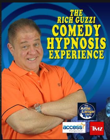 Comedian & Hypnotist Rich Guzzi