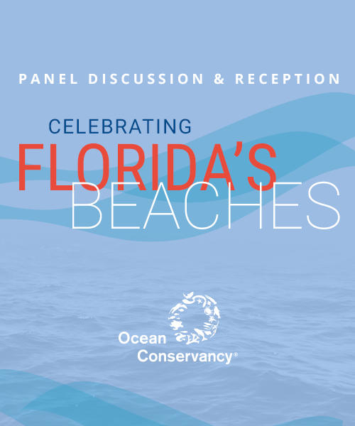 Ocean Conservancy Presents: Celebrating Florida's Beaches - Panel Discussion & Reception