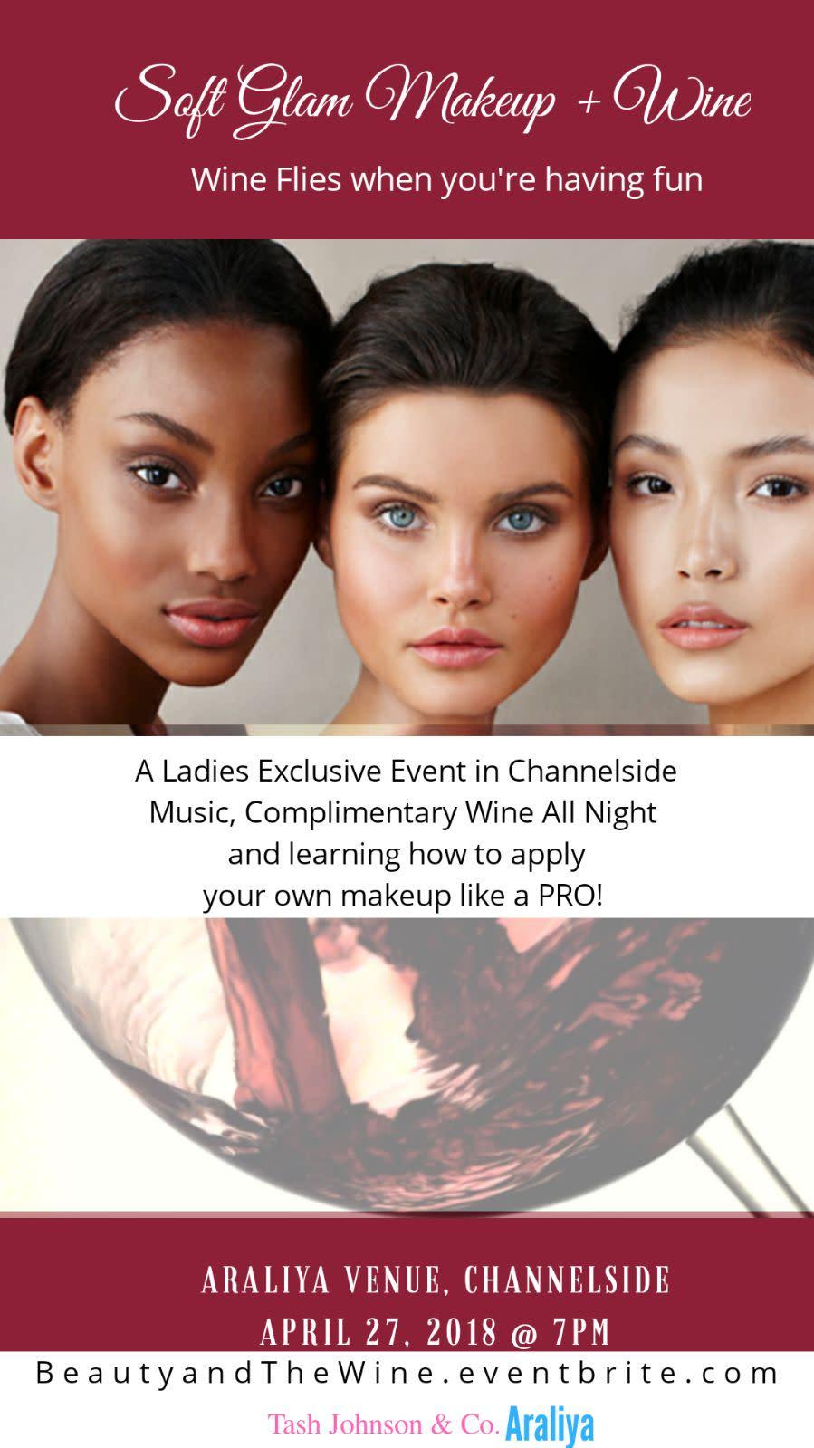 Soft Glam + Wine