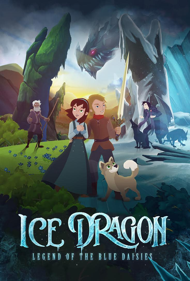 """Ice Dragon: Legend of the Blue Daisies,"""" Animated Musical Cinema Event"""