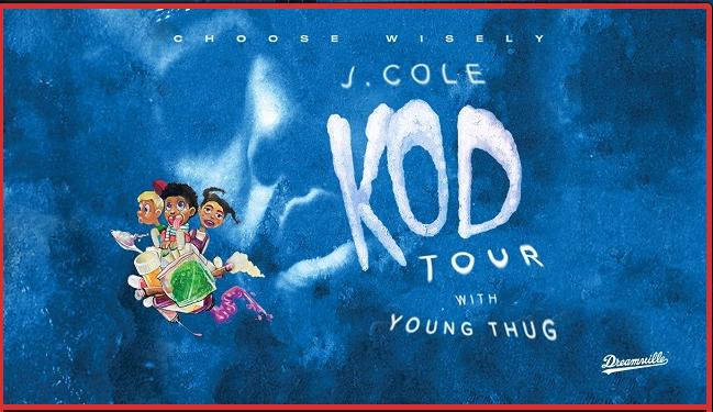 J Cole, KOD Tour