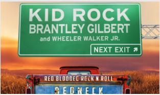 Kid Rock+Brantley Gilbert: Red Blooded RocknRoll Redneck Extravaganza Tour
