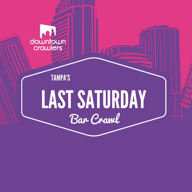 Halloween Edition - Tampa's Last Saturday Bar Crawl