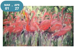 Leslie Jeffery, Solo Exhibition 'FOR THE BIRDS'