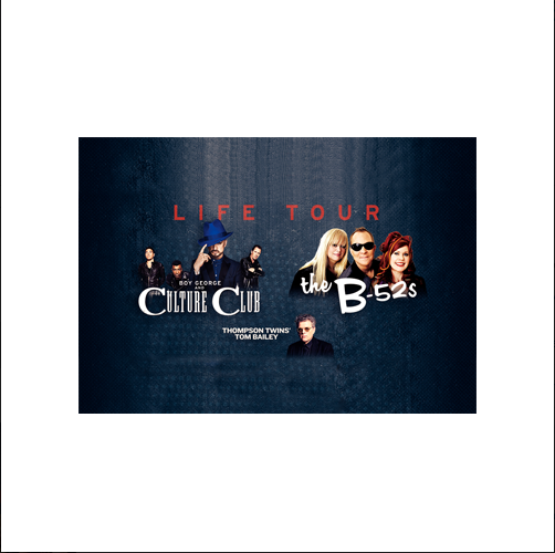 Boy George and Culture Club & The B52s: The Life Tour