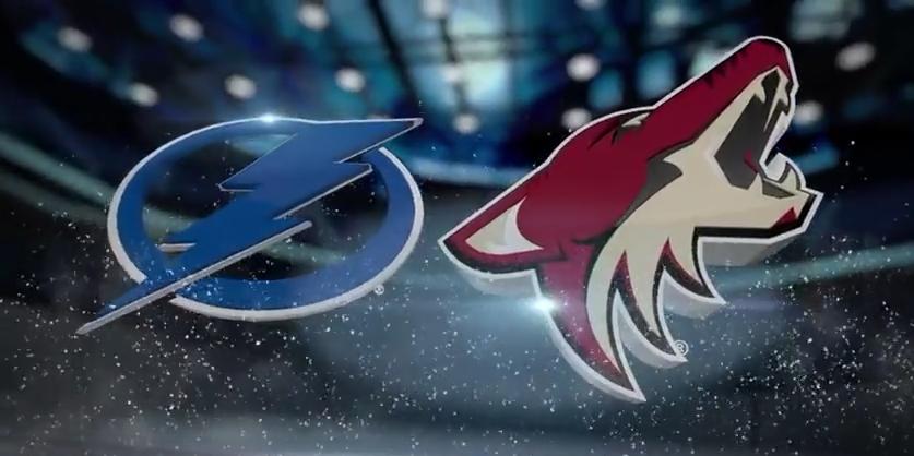 Tampa Bay Lightning vs Arizona Coyotes