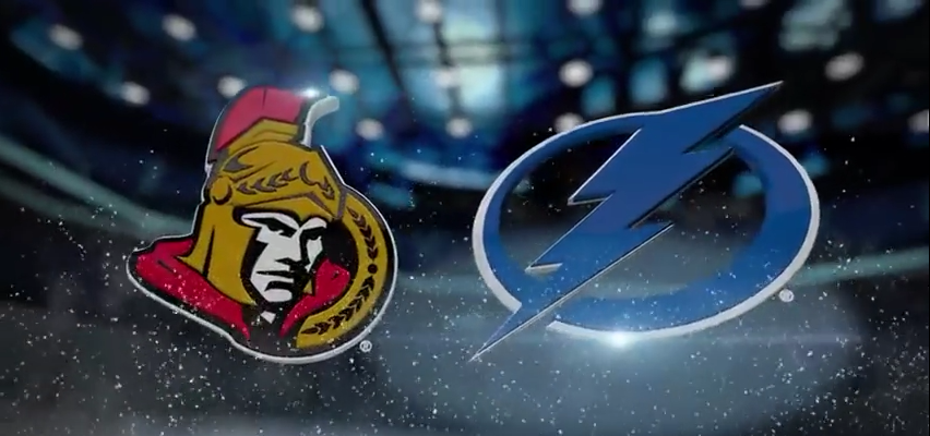 Tampa Bay Lightning vs Ottawa Senators