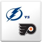Tampa Bay Lightning vs Philadelphia Flyers